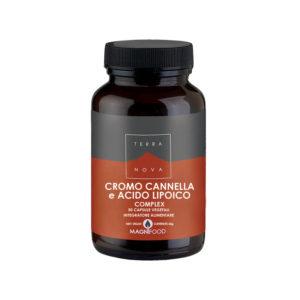 Cromo, Cannella e Acido Lipoico Complex